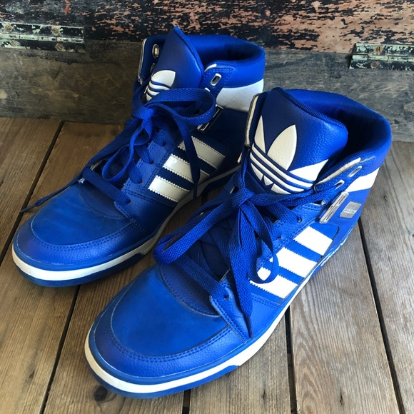 adidas Shoes | Adidas Blue Leather